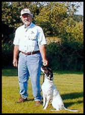 Ewing Miracle and his English Pointer Lilie
